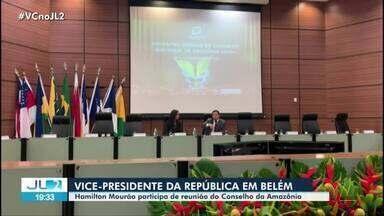 Vice-presidente Hamilton Mourão participa de reunião no Conselho da Amazônia - Vice-presidente Hamilton Mourão participa de reunião no Conselho da Amazônia