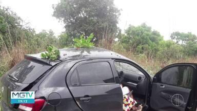 Três pessoas ficam feridas em quatro acidentes na região Central de MG - Três deles foram na BR-135, entre Curvelo e Montes Claros.