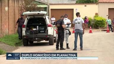 Homem confessa assassinato de mãe e filha em Planaltina - Segundo a polícia, Josimar de paiva teve um relacionamento de três anos com uma a das vítimas e perseguia a mulher de forma obsessiva para retornar o relacionamento.