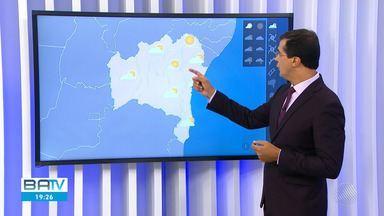 Confira previsão do tempo em Salvador e municípios da Bahia na sexta-feira - Sol entre nuvens deve predominar em todo estado.