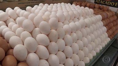 Produção de ovos de galinha bate recorde no Brasil - Foram mais um bilhão de dúzias de ovos de galinha, no terceiro trimestre deste ano.