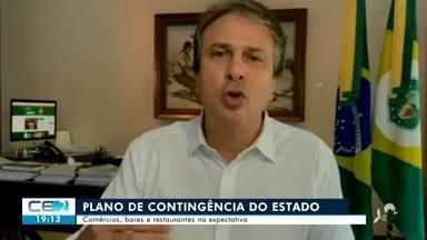 Governo do Estado anuncia novo plano de contingência para pandemia - Saiba mais no g1.com.br/ce