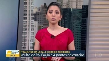 Rodízio não será suspenso neste ano - Prefeitura de SP diz que atendeu uma recomendação de profissionais de saúde.