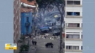Imagens detalham ação na Cracolândia - O confronto foi entre policiais e dependentes químicos.