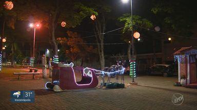 Confira as decorações de Natal em Sumaré - A partir desta semana, EPTV 1 mostra as preparações das cidades da região para o período natalino.