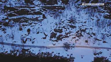 Kite na Noruega - O objetivo de Chicco é conseguir captar imagens de uma sessão de kite com a Aurora Boreal na região de Tromso, no Norte da Noruega. Para ajudar, ele convida Kari Schibevaag, 7 vezes campeã mundial de kiteboarding.