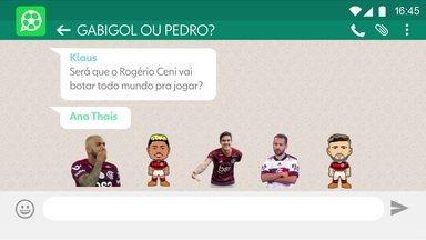 Gabigol ou Pedro? Comentaristas conversam sobre possibilidades para ataque do Flamengo - Gabigol ou Pedro? Comentaristas conversam sobre possibilidades para ataque do Flamengo