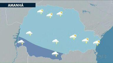 Fim de semana com previsão de chuva - Pancadas isoladas estão prevista também para a próxima semana.