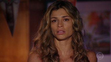 Ester conta a Cassiano sobre as ameaças de Alberto - Cassiano fica assustado ao saber que Alberto fez ameaças contra Samuca