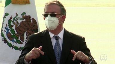 México começa a vacinar contra a Covid - Governo mexicano vai começar a vacinar profissionais da saúde