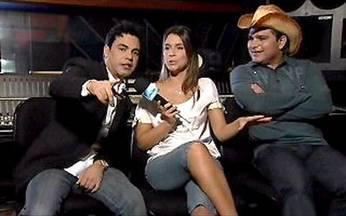Sarah Oliveira entrevista Zezé di Camargo e Luciano - A repórter do Video Show bate um papo animado com os cantores e relembra seus grandes sucessos.