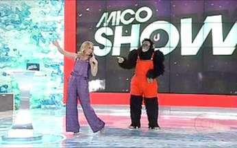 Mímica para Malvino Salvador e Thiago Rodrigues - Terça-feira é dia de Mico Show no Video Game e Angélica faz a festa com os convidados!
