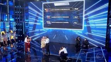 Relembre momentos da final do Dança dos Famosos - Lucy Ramos, Giullia Buscacio e Danielle Winits disputaram o troféu da competição