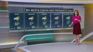 Centro-sul de Minas Gerais terá mais temporais nos próximos dias - Veja a previsão detalhada para todo o Brasil.
