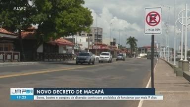 Novo decreto de Macapá mantém proibido o funcionamento de bares, boates e parques - Novo decreto de Macapá mantém proibido o funcionamento de bares, boates e parques