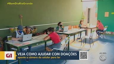 ONG de Porto Alegre arrecada doações para ajudar famílias carentes durante a pandemia - Nesta sexta-feira (8), a WimBelemDon vai realizar a primeira entrega de doações de cestas básicas e cartões alimentação de 2021. Veja como doar.