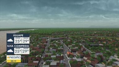 Confira a previsão do tempo para essa segunda-feira - Previsão é de tempo instável para a Baixada Santista.
