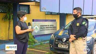 Polícia Rodoviária Federal faz balanço parcial sobre a operação Rodovida - Operação segue em todo o país, nas rodovias, até depois do carnaval.