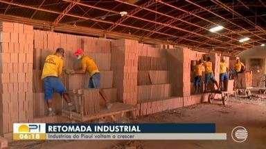 Após meses parados, indústrias do Piauí voltam a crescer - Indústria