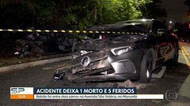 Só nesta manhã (11) pista é liberada no Morumbi após acidente por demora na perícia - O acidente foi no domingo (10) e deixou um morto e cinco feridos.