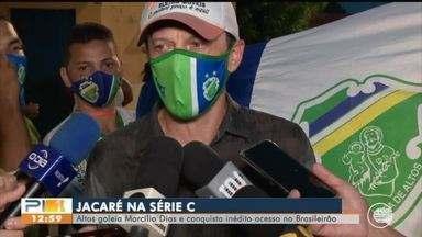 Altos conquista o tão sonhado acesso para a Série C do Brasileirão - Altos conquista o tão sonhado acesso para a Série C do Brasileirão