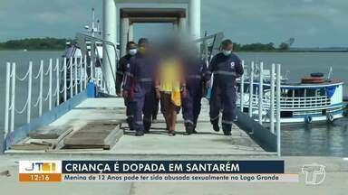 Menina de 12 anos pode ter sido abusada sexualmente no Lago Grande, em Santarém - Casal foi apresentado à polícia para esclarecimentos sobre o caso.