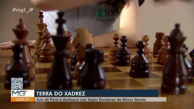 Juiz de Fora é destaque nos Jogos Escolares de Minas Gerais - Jovens enxadristas da cidade foram ao pódio na disputa realizada on-line em dezembro.