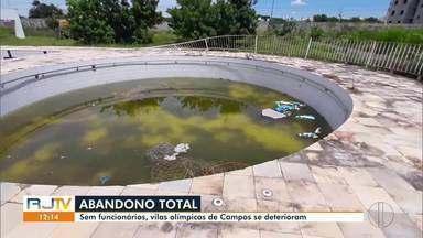 Cinco pessoas foram presas por furto de ar condicionado em Vila Olímpica de Campos - O grupo invadiu o espaço e furtou o equipamento.