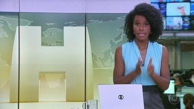 Jornal Hoje - Edição de 13/01/2021 - Os destaques do dia no Brasil e no mundo, com apresentação de Maria Júlia Coutinho.