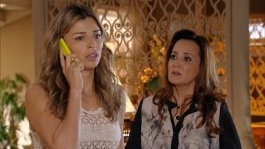 Ester recebe a notícia sobre a explosão da mina - Mantovani e os tenentes chegam ao local para ajudar na busca