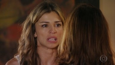 Ester culpa Alberto pela explosão na mina - Guiomar tenta acalmar a nora