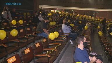 Liberação de eventos em Porto Alegre gera expectativas de melhora no setor - Assista ao vídeo.