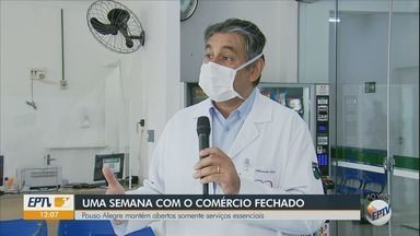 Pouso Alegre mantém abertos somente serviços essenciais - Pouso Alegre mantém abertos somente serviços essenciais