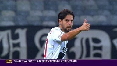 Benítez vai ser titular em jogo do Vasco contra o Atlético-MG - Benítez vai ser titular em jogo do Vasco contra o Atlético-MG