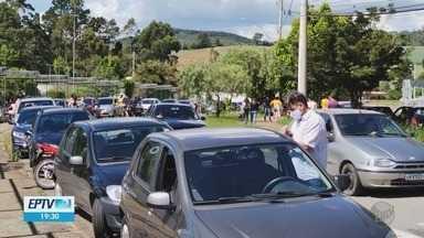 Cidades do Sul de MG realizam manifestação contra Bolsonaro e a favor da vacina - Cidades do Sul de MG realizam manifestação contra Bolsonaro e a favor da vacina