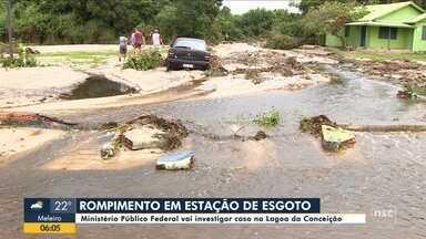 MPF vai investigar rompimento de lagoa em Florianópolis - MPF vai investigar rompimento de lagoa em Florianópolis