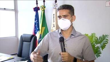 MP pede prisão do prefeito de Manaus e de secretária de Saúde por fraudes na vacinação - David Almeida e Shadia Fraxe são citados em ação que denuncia irregularidades na campanha e favorecimento de pessoas que teriam furado a fila do grupo prioritário. Prefeito nega crimes.