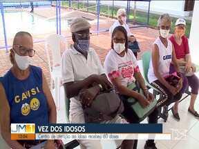 Centro de atenção ao idoso de São Luís recebeu 60 doses da vacina contra Covid-19 - Começou a vacinação de idosos com idade a partir de 75 anos, atendidos pelo centro de atenção ao idoso, mantido pela prefeitura de São Luís.