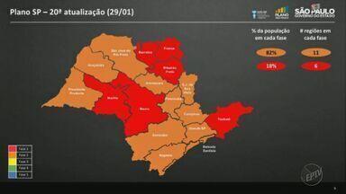 Região de Ribeirão Preto é rebaixada para a fase vermelha do Plano SP - Anúncio foi feito pelo Governo de São Paulo nesta sexta-feira (29).