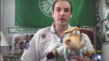 Waguinho, palmeirense do Resenha, fala sobre expectativas para a final de sábado - Ele falou sobre as superstições na hora de acompanhar as partidas, os jogadores que podem fazer a diferença na decisão da Libertadores, entre outros.