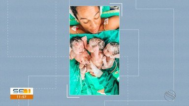 Sergipana morre após o parto de trigêmeos - Sergipana morre após o parto de trigêmeos.