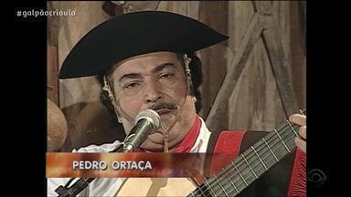 Reveja o terceiro bloco do Galpão Crioulo deste sábado (30) - Assista ao vídeo.