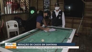 Santana registra redução de casos da Covid-19 e avalia que fiscalização controla números - Santana registra redução de casos da Covid-19 e avalia que fiscalização controla números