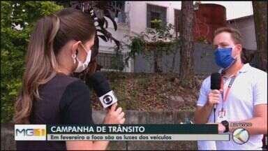 Campanha em Divinópolis esclarece dúvidas sobre o trânsito - O secretário de Trânsito e Transporte, Lucas Lopes Estevam, falou sobre as ações de orientação aos motoristas.