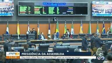 Presidência da Assembleia Legislativa de Roraima - Deputado Jalser Renier recorre ao STF para se manter no cargo.