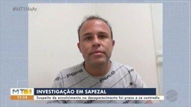 Polícia investiga o desaparecimento de um homem em Sapezal - Polícia investiga o desaparecimento de um homem em Sapezal.