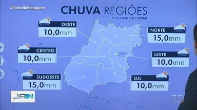 Veja como fica o tempo em Goiás - Confira a previsão nas regiões do estado.