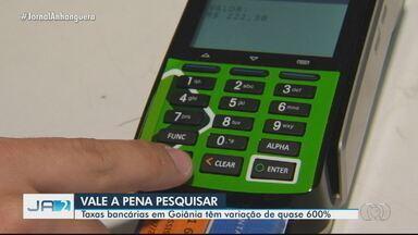 Procon mostra variação de quase 600% entre taxas de bancos em Goiás - Pesquisa revelou que por aplicativo a economia é grande.