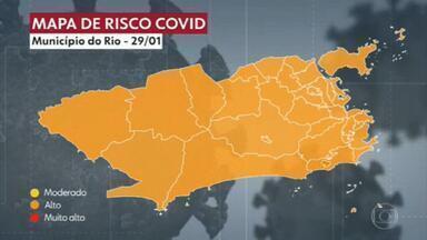 Rio começa a vacinar idosos por faixa etária na próxima semana - Rio começa a vacinar idosos por faixa etária na próxima semana