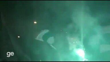Torcedores do Juventude comemoram acesso à elite do Campeonato Brasileiro - Assista ao vídeo.